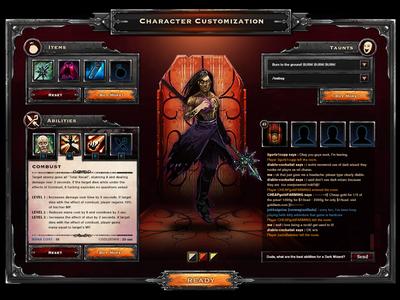Battle Arena UI  user interface ui ui art games graphic design design video games art ui design graphic iconography icons semiotics uiux arts framing dota mock-up