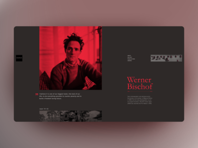 Werner Bischof — Magnum Photos