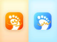 Walk App Logo