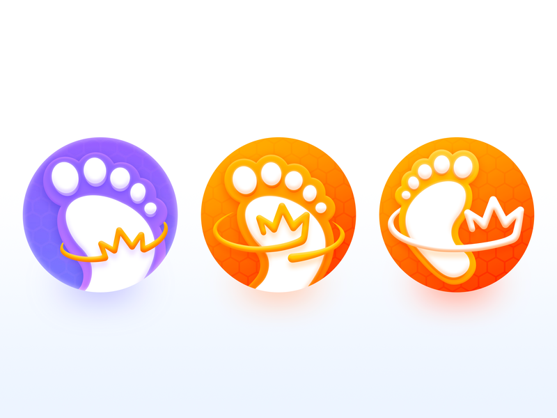 Walk App Logo Process