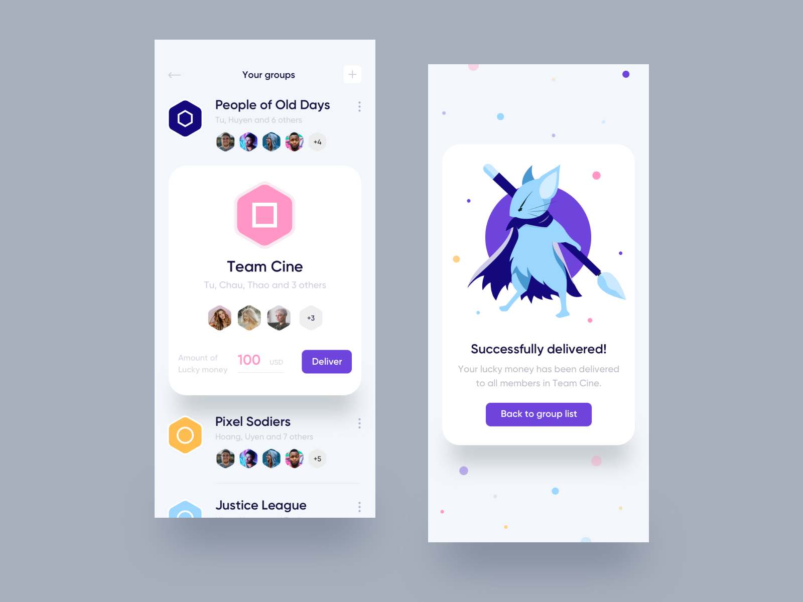 Lucky Money Delivering App By Tien Tran On Dribbble