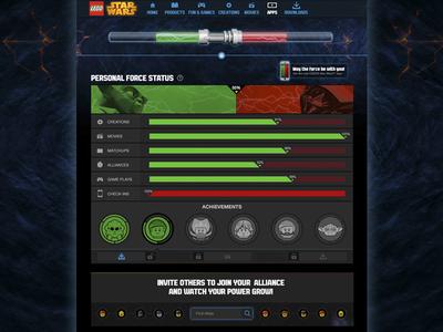 LEGO Star Wars FORCEOMETER