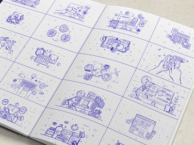 Storyboard By Helen Yomi  Dribbble