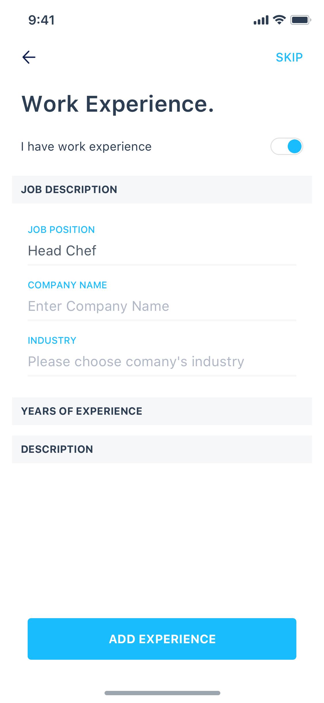 5.1 job description 3x