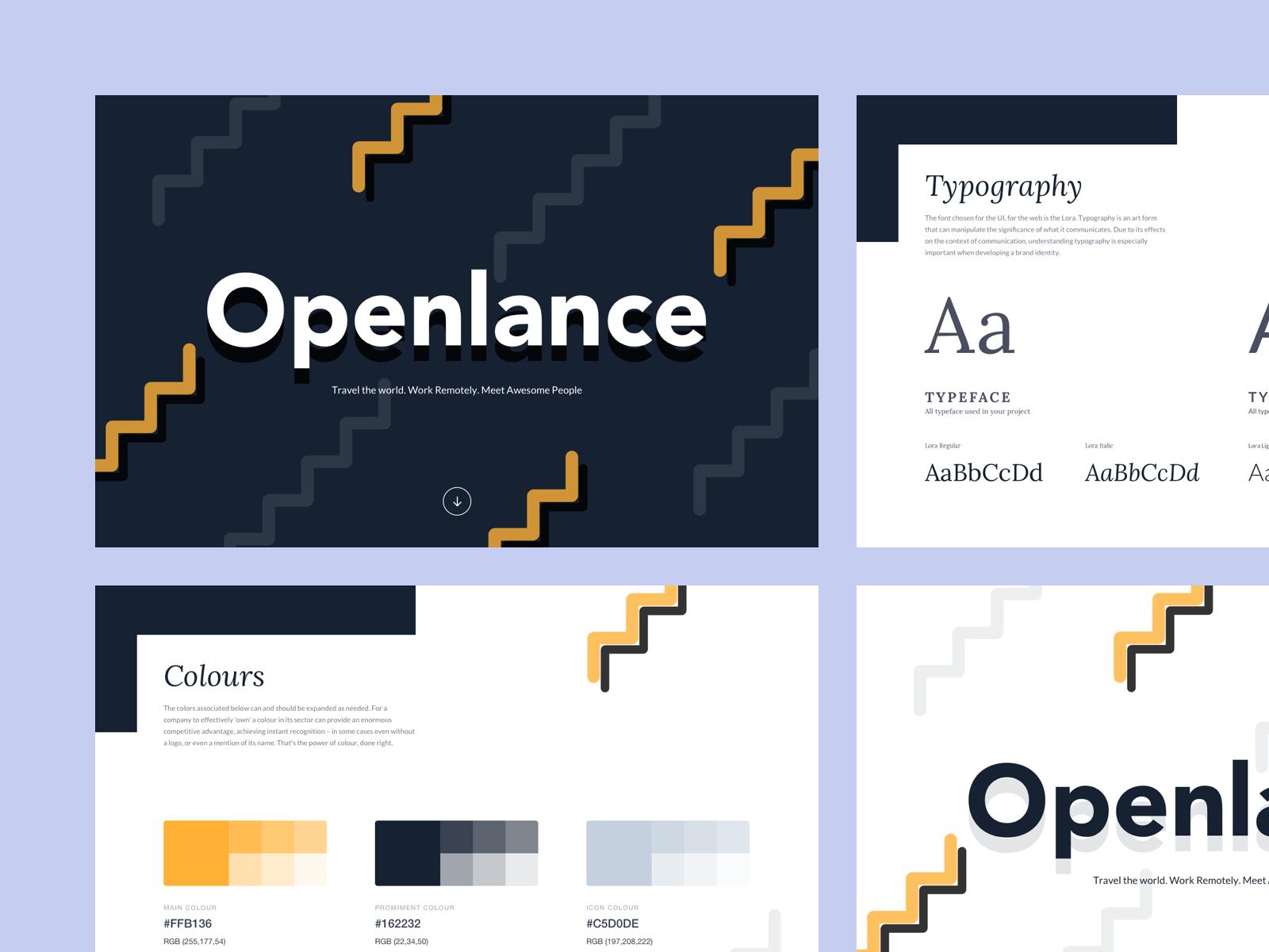 Bruvvv   openlance branding