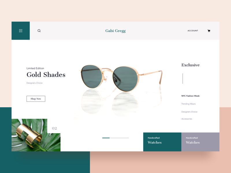 Gabi Gregg || Landing Page architecture designer style bruvvv home cards daily ui design booking feed social blog clothing ecommerce shopping illustration landing web fashion blogger fashion