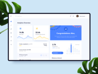 Dashboard || Analytics card bruvvv banking web landing interaction feed social illustration ecommerce web app statistics dashboard template stats graph dashboard ux ui fintech daily ui