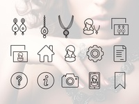 Jewellery - Icon Set