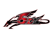 A Copying Practice of Yu-Gi-Oh 5DS Logo