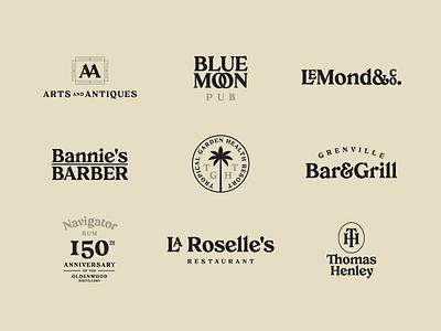 Creolia - Typeface #03 ligature logo vintage typography typeface type tropical serif font elegant display design creolia caribbean bold