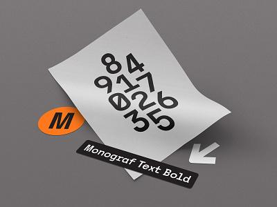 Monograf | Font font