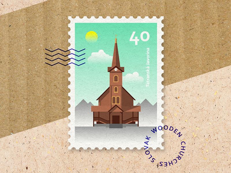 Slovak Wooden Churches 1 By Milan Pleva On Dribbble