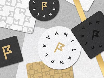 Personal Branding - MP visual portfolio personal name monogram logo identity branding brand identity brand