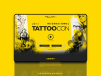 Tattoocon | Conference Marketing Design