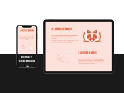 MyStudiolo Features   Art Collector Startup Landingpage framer x typography minimal code clean website figma design web ui