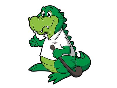 Field Hockey mascot