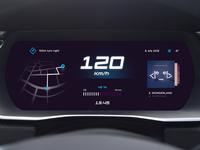 UI Car Dashboard