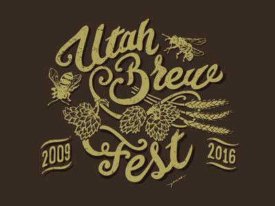 Utah Brew Fest Logo