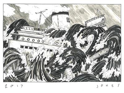 Iron Shipwreck