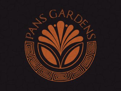 Pan's Gardens Logo