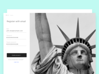 Register Page - Freedom