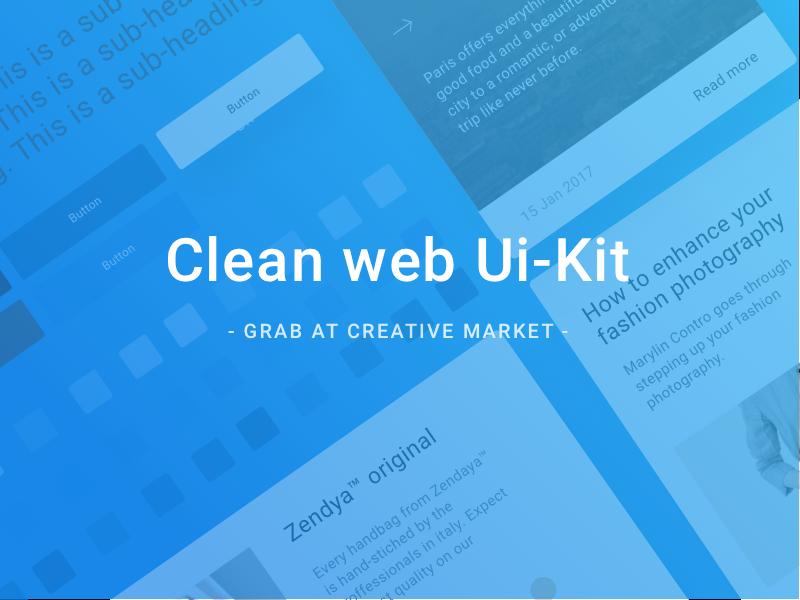 Clean Web Ui Kit
