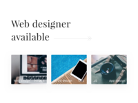 Web Designer Available