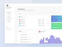 Economy Dashboard  - Web Design