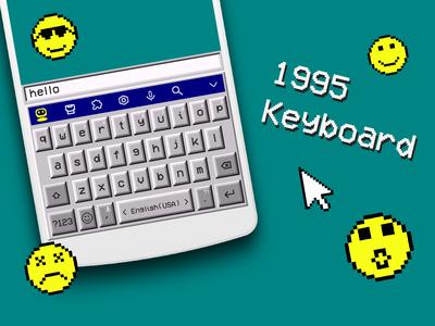 Retro Style Keyboard