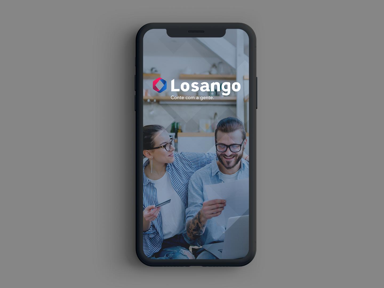 UX/UI - Losango Clientes losango app application product design ux ui