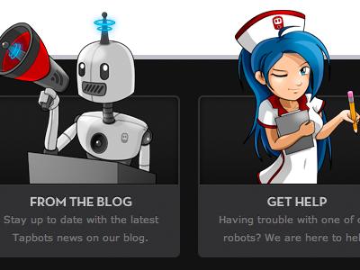 Something's Afoot tapbots illustration footer