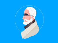 Legendary icon - Hayao Miyazaki