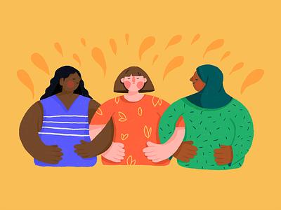 Happy International Women's Day! womens day 2021 happy womens day women empowerment women illustration womens day girl woman character illustration