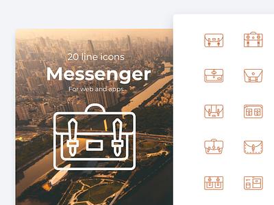 Messenger bag icons sales business travel fashion cross body bag briefcase bag icons icon sling bag messenger bag messenger