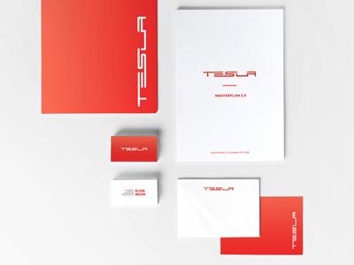 TESLA Rebrand