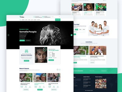 Help's - Non-Profit Charity & Fundraising Web Templates old age nonprofit non-profit ngo kids fundraising fund foundation donation donate church charity