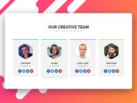 Our Creative Team