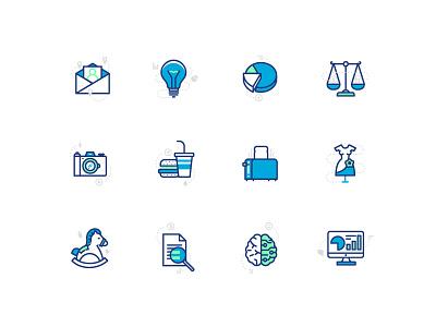 Branding of Wizer digital icon startup icons design rebranding branding