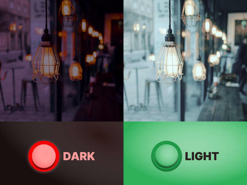 Daily UI Day #015: Light//Dark Switch