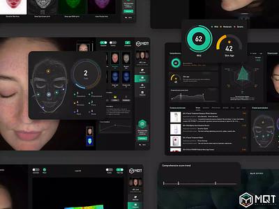 PC-Skin tester symptom shoot recording product pc logo face desktop data comprehensive client analysis ae 3d