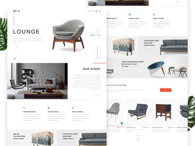 BNS.YY Furniture Web Design #1 red green bns.yy ai furniture web