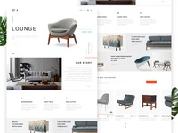 BNS.YY Furniture Web Design #1