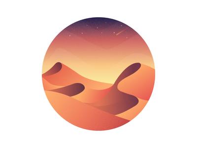 Desert Illustrator #2 ui ai illustrator desert