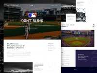 Mlb Blog Web Design #3