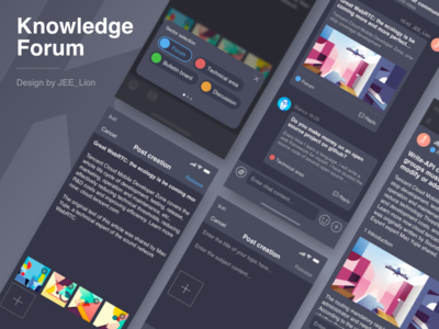 Knowledge Forum ue ui tool pop release imessage sms information community forum qa app