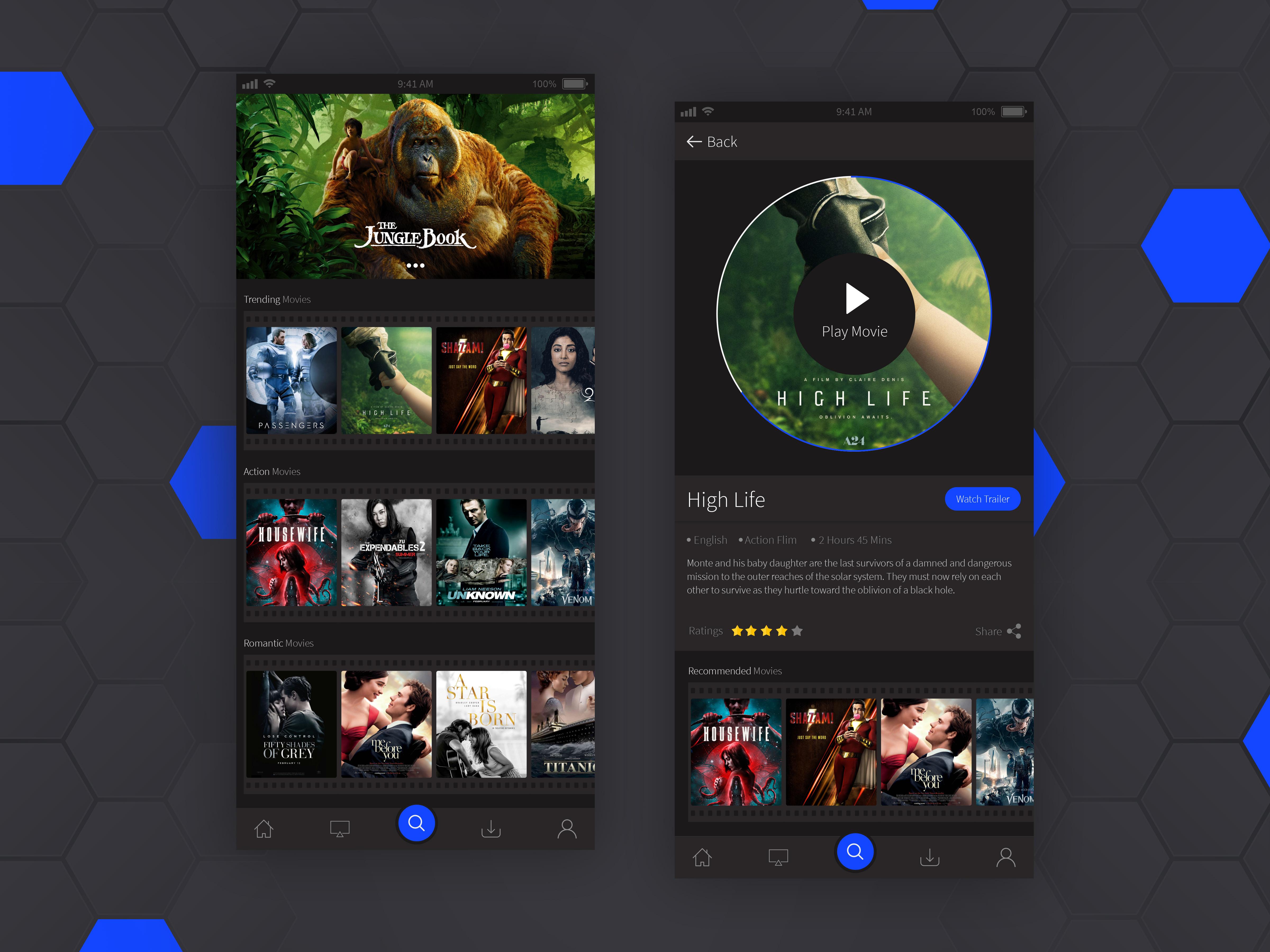Movie App by Ketan Mogre | Dribbble | Dribbble