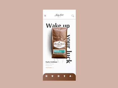 LGC - Coffee App - Coming Soon (Bit-part Animation) ✌🏼✌🏼✌🏼 smooth flat sketch coffee product design app ios motion design animation ui ux