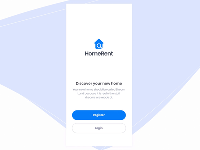 Home Rent App Animation - Part 1