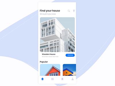 Home Rent App Animation - Finale product design interaction design app ios flat motion design animation ui ux