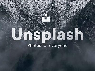 Unsplash iOS UI Kit - CS ae sketch aesthetics product design app ios flat motion design animation ui ux